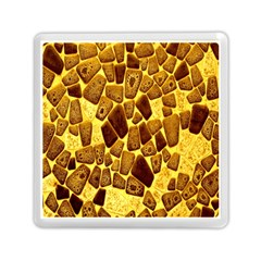 Yellow Cast Background Memory Card Reader (square)