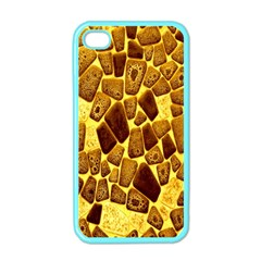 Yellow Cast Background Apple iPhone 4 Case (Color)