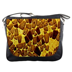 Yellow Cast Background Messenger Bags