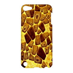 Yellow Cast Background Apple Ipod Touch 5 Hardshell Case