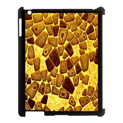 Yellow Cast Background Apple Ipad 3/4 Case (black)