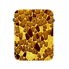 Yellow Cast Background Apple iPad 2/3/4 Protective Soft Cases