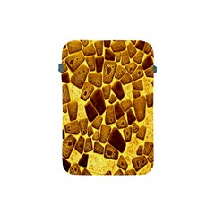 Yellow Cast Background Apple Ipad Mini Protective Soft Cases