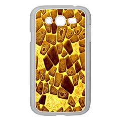 Yellow Cast Background Samsung Galaxy Grand Duos I9082 Case (white)