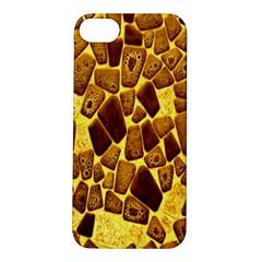 Yellow Cast Background Apple iPhone 5S/ SE Hardshell Case
