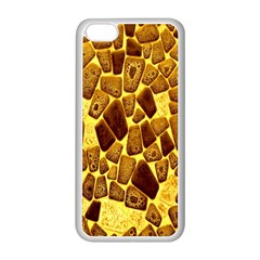 Yellow Cast Background Apple Iphone 5c Seamless Case (white)