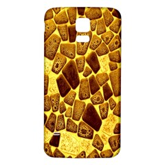 Yellow Cast Background Samsung Galaxy S5 Back Case (white)