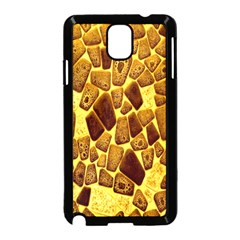 Yellow Cast Background Samsung Galaxy Note 3 Neo Hardshell Case (Black)
