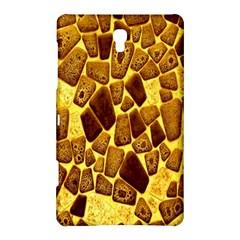 Yellow Cast Background Samsung Galaxy Tab S (8 4 ) Hardshell Case