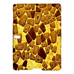 Yellow Cast Background Samsung Galaxy Tab S (10.5 ) Hardshell Case
