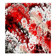Red Fractal Art Shower Curtain 66  X 72  (large)