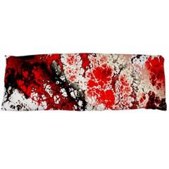 Red Fractal Art Body Pillow Case Dakimakura (two Sides)