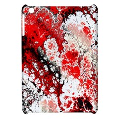 Red Fractal Art Apple iPad Mini Hardshell Case