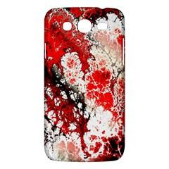 Red Fractal Art Samsung Galaxy Mega 5.8 I9152 Hardshell Case