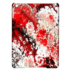 Red Fractal Art Ipad Air Hardshell Cases