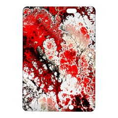 Red Fractal Art Kindle Fire Hdx 8 9  Hardshell Case