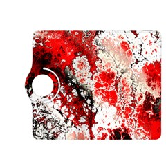 Red Fractal Art Kindle Fire Hdx 8 9  Flip 360 Case