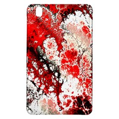 Red Fractal Art Samsung Galaxy Tab Pro 8 4 Hardshell Case
