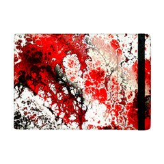 Red Fractal Art Ipad Mini 2 Flip Cases