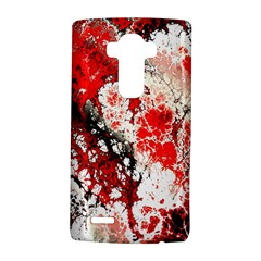 Red Fractal Art Lg G4 Hardshell Case