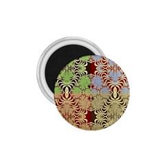 Multicolor Fractal Background 1 75  Magnets