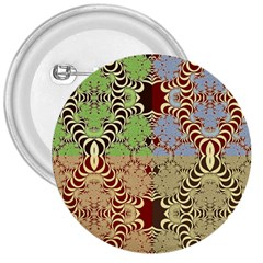 Multicolor Fractal Background 3  Buttons