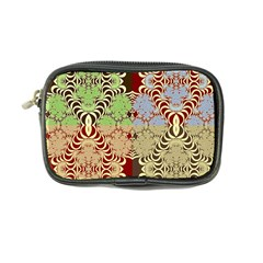 Multicolor Fractal Background Coin Purse