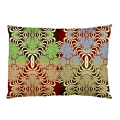 Multicolor Fractal Background Pillow Case (two Sides)