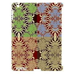 Multicolor Fractal Background Apple Ipad 3/4 Hardshell Case (compatible With Smart Cover)
