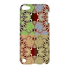 Multicolor Fractal Background Apple Ipod Touch 5 Hardshell Case