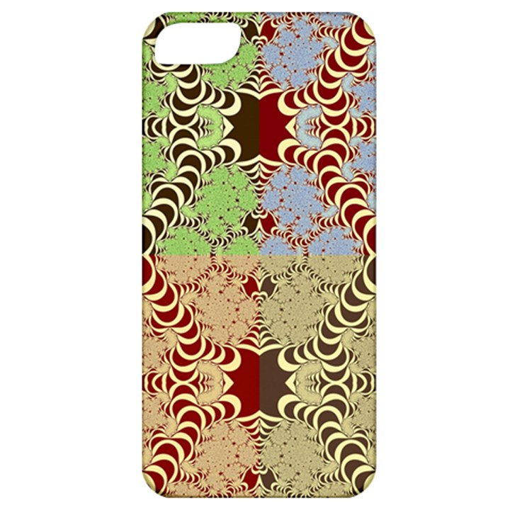 Multicolor Fractal Background Apple iPhone 5 Classic Hardshell Case