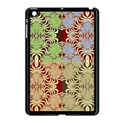 Multicolor Fractal Background Apple Ipad Mini Case (black)