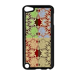 Multicolor Fractal Background Apple Ipod Touch 5 Case (black)