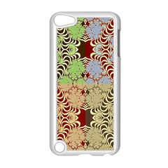 Multicolor Fractal Background Apple Ipod Touch 5 Case (white)