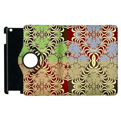 Multicolor Fractal Background Apple Ipad 3/4 Flip 360 Case