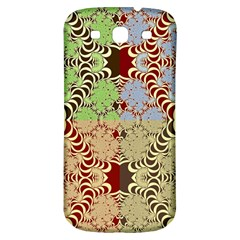 Multicolor Fractal Background Samsung Galaxy S3 S Iii Classic Hardshell Back Case