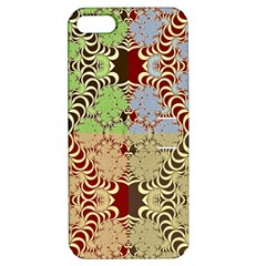 Multicolor Fractal Background Apple Iphone 5 Hardshell Case With Stand