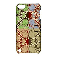 Multicolor Fractal Background Apple Ipod Touch 5 Hardshell Case With Stand
