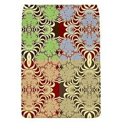 Multicolor Fractal Background Flap Covers (s)