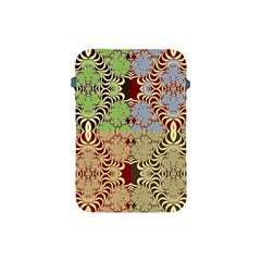 Multicolor Fractal Background Apple Ipad Mini Protective Soft Cases