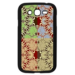 Multicolor Fractal Background Samsung Galaxy Grand Duos I9082 Case (black)