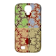Multicolor Fractal Background Samsung Galaxy S4 Classic Hardshell Case (PC+Silicone)