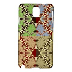 Multicolor Fractal Background Samsung Galaxy Note 3 N9005 Hardshell Case