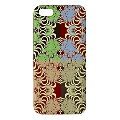 Multicolor Fractal Background Iphone 5s/ Se Premium Hardshell Case