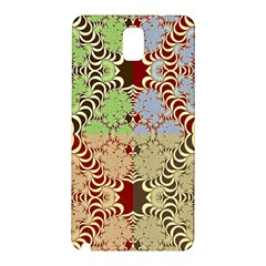 Multicolor Fractal Background Samsung Galaxy Note 3 N9005 Hardshell Back Case