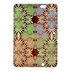 Multicolor Fractal Background Kindle Fire Hdx 8 9  Hardshell Case