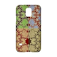 Multicolor Fractal Background Samsung Galaxy S5 Hardshell Case