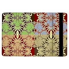 Multicolor Fractal Background iPad Air Flip
