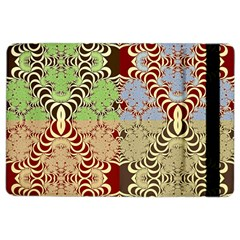 Multicolor Fractal Background Ipad Air 2 Flip