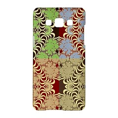 Multicolor Fractal Background Samsung Galaxy A5 Hardshell Case